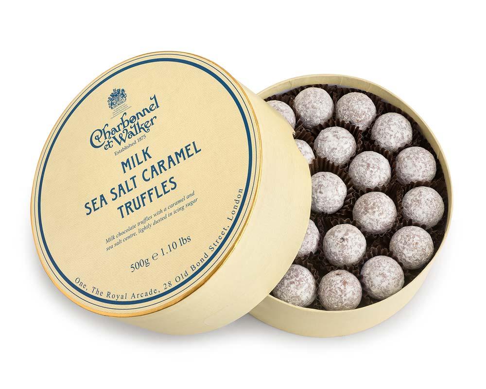 Milk Sea Salt Caramel Chocolate Truffles
