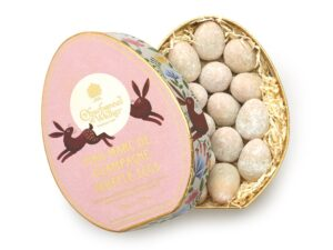 Easter Oval Pink Marc de Champagne Mini Truffle Eggs Gift Box