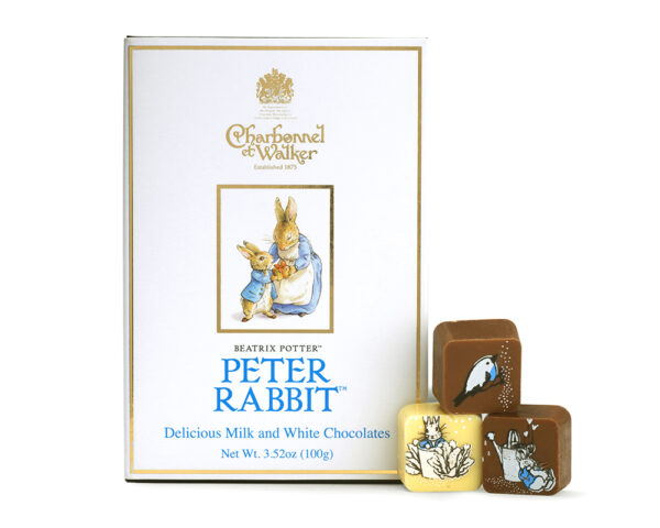 Adorable Peter Rabbit Milk and White Chocolates Book Box