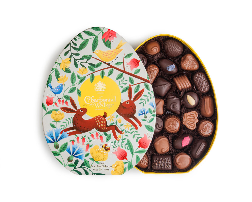 Oval Easter Fine Milk & Dark Chocolate Selection